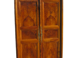 Biedermeier Hall Cabinet Walnut circa 1830, Biedermeier Cupboard, Antique Hall Cabinet, Antique Cupboard, Original Biedermeier Furniture
