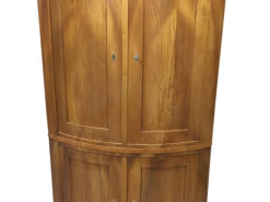 Biedermeier Ash Corner Cupboard from 1840, Biedermeier Cabinet, Antique Cabinet, Antique Cupboard, Original Biedermeier, Ashwood Cabinet