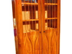 1840s Book Cabinet or Vitrine from Vienna, Biedermeier Cabinet, Biedermeier Vitrine, Original Biedermeier, Antique Book Cabinet