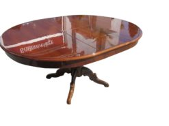 Table in Style of Biedermeier in Walnut Wood, Biedermeier Table, Antique Table, Original Biedermeier Furniture, Antique Biedemeier Style
