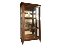 Biedermeier Era Bookcase or Collectors Vitrine from circa 1845, Biedermeier Vitrine, Collectors Vitrine, Antique Bookcase, Biedermier Display Cabinet