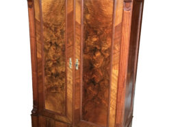 1880s Gründerzeit Walnut Wardrobe from Germany, Gründerzeit Cabinet. Antique Cabinet, Antique Wardrobe, Walnut Cabinet, Furnuture from Germany