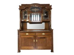 Jugendstil Buffet from Austria, 1920s, Art Nouveau Buffet, Art Nouveau Display Cabinet, Jugendstil Cabinet, Antique Buffet