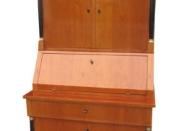 Biedermeier Secretaire circa 1840 Cherrywood, Biedermeier Desk. Biedermeier Writing Table, Antique Secretary, Biedermeier Secretary