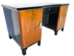 Art Deco Two Color Desk from France 1930s, Art Deco Furniture, Modern Design, Luxury Interiors, Writing Tables, Luxury Items, Modern Art Deco Design