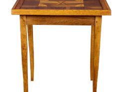 Antique Game Table with Marquetry Works, Side table, Ende table, Antiques, Design antiques, interior design, luxury antiques, tables, furniture