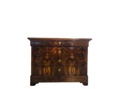 Austrian Biedermeier Commode made of Walnut Wood, Antique Commode, Interior Design, Antique Design, Luxury Antiques, High End Antiques