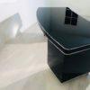 1950s Bauhaus Desk in High Gloss Black 8