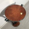 Honey Maple Art Deco Style Side Table 2