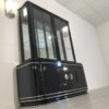 High Gloss Black Art Deco Vitrine Cabinet3 n