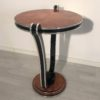 Honey Maple Art Deco Style Side Table 1