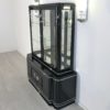 High Gloss Black Art Deco Vitrine Cabinet3 8