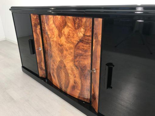 Walnut Burl Sideboard from France 1930s, Black Sideboard, Luxury sideboard, Art Deco Sideboard, Art Deco Buffet, Storage, Luxury, Interior Design