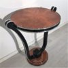 Honey Maple Art Deco Style Side Table 4
