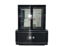 High Gloss Black Art Deco Vitrine Cabinet, Art Deco Furniture, Design Furniture, High Gloss Black Furniture, Interior Design, Luxury Furniture