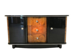 French Burl Walnut Art Deco Commode from 1925, french furniture, art deco luxury, design furniture, antique high end, high gloss commode