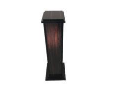 Art Deco Design Macassar Pillar, Art Deco Style, Handmade Art Deco, Macassar Wood, Art Deco Furniture, Original Art Deco Art Deco Column
