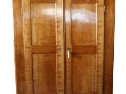 Biedermeier Cabinet made of Cherry Wood from Germany, Biedermeier Wardrobe, Original Biedermeier Furniture, Antique Cabinet
