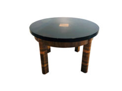 French Art Deco Coffee Table 1930s, Antique Side Tables, Design Tables, Luxury Side Table, Walnut Wood, Interior Design, Design Furniture