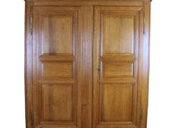 1820s Oak Wood Biedermeier Wardrobe, Antique Wardrobe, Antique Cabinet, Biedermeier Furniture, Original Biedermeier, Biedermeier Cabinet