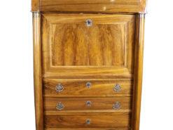 1830´s Biedermeier Walnut Wood Secretary, Original Biedermeier, Biedermeier Furniture, Antique Secretary, Antique Biedermeier