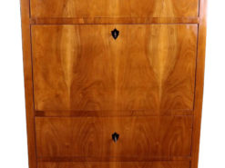 Cherry Wood Biedermeier Secretary around 1830, Original Biedermeier, Biedermeier Furniture, Antique Desk, Antique Secretary