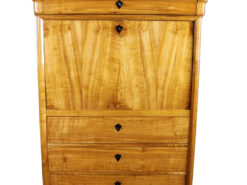 Biedermeier Era 1860´s Secretary made of Cherry Wood, Original Biedermeier, Biedermeier Furniture, Antique Secretary, Antique Desk