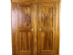Biedermeier Walnut Cabinet around 1850, Original Biedermeier, Biedermeier Furniture, Antique Furniture, Antique Wardrobe, Antique Cabinet