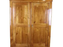 Biedermeier Wardrobe made of Cherry Wood, Biedermeier Cabinet, Biedermeier Furniture, Original Biedermeier, Antique Wardrobe