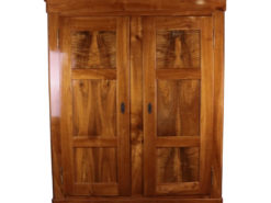 1860´s Biedermeier Cabinet made of Cherry and Walnut Wood, Biedermeier Furniture, Antique Cabinet, Antique Biedermeier, Original Biedermeier