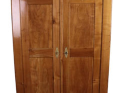 1860s Biedermeier Cabinet made of Cherry Wood, Biedermeier Furniture, Original Biedermeier, Antique Wardrobe, Antique Cabinet