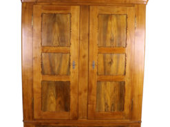 Rare Biedermeier Wardrobe or Carbinet made of Cherry around 1860, Original Biedermeier, German Furniture, Antique Cabinet