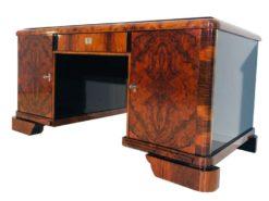 art, deco, desk, root, wood, old, antique, modern, original, living, office, table, france, noble, elegant, wonderful, astonishing