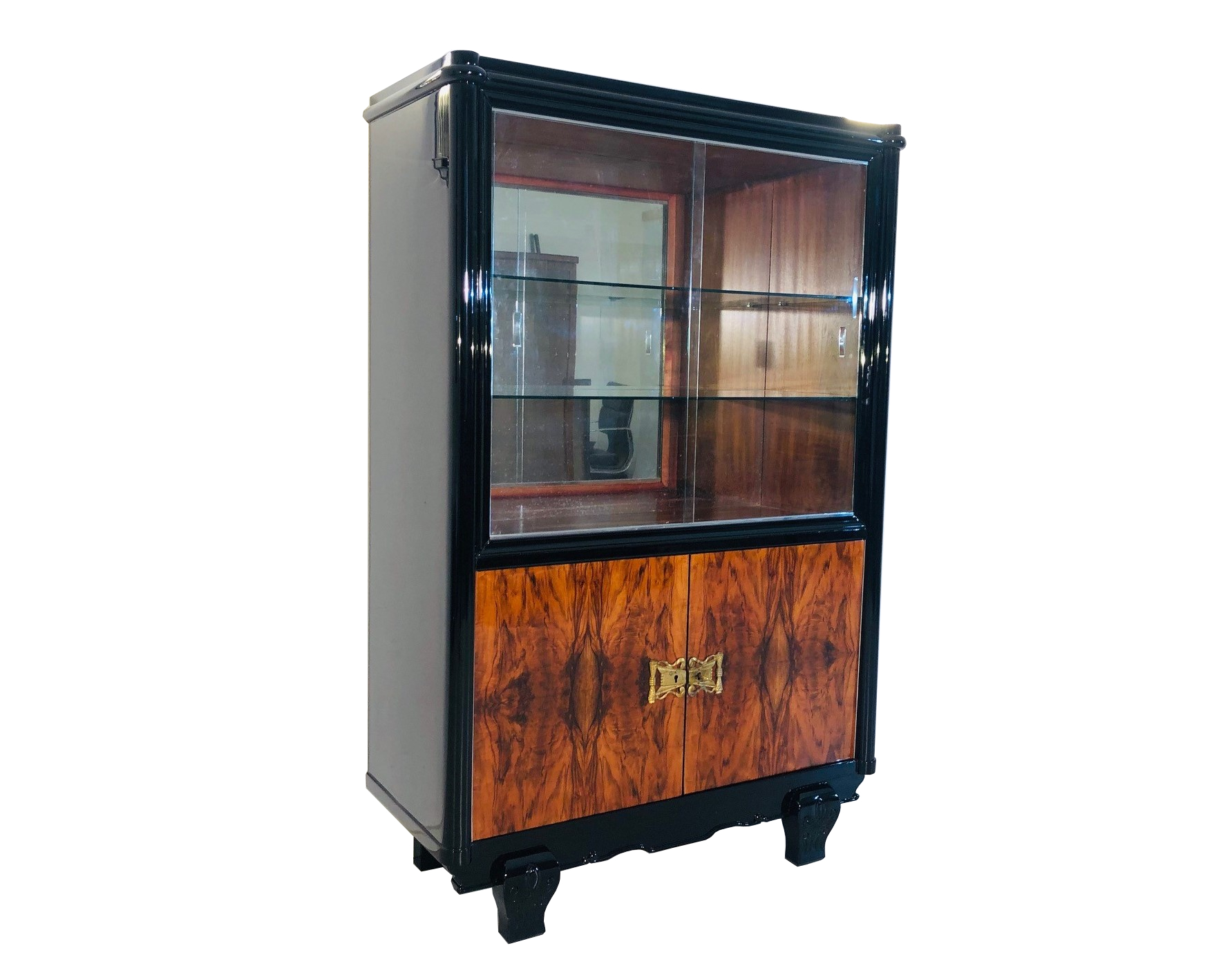 Luxurious Art Deco Display Cabinet France 1920s