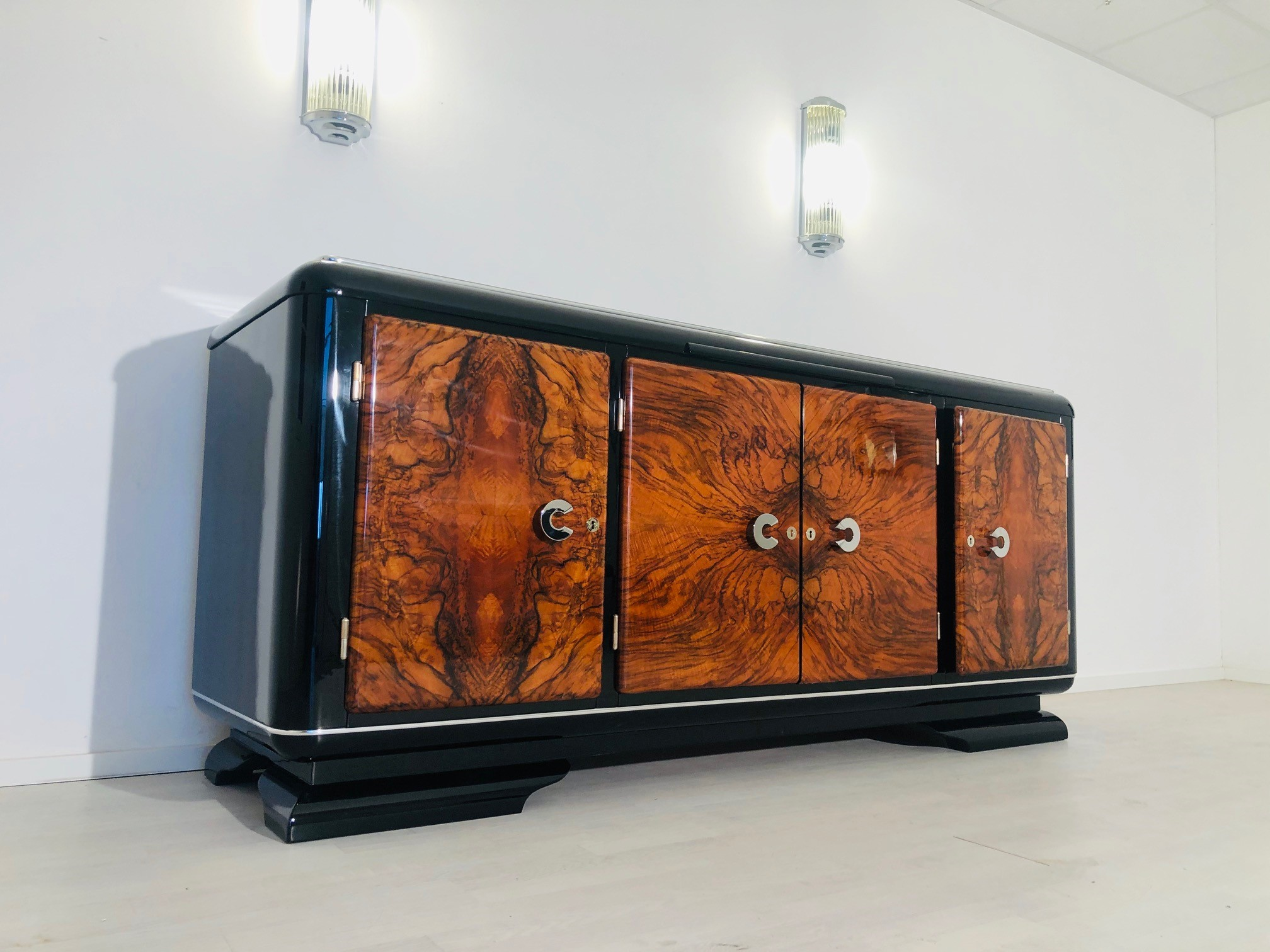 Original Art Deco Sideboard from France 1920s