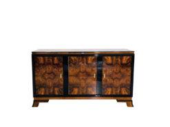 Walnut Sideboard from the Art Deco Era, Antique Sideboard for sale, Art Deco Sideboards, Antique Dealer, Art Deco Furniture Dealer, Luxury Furniture