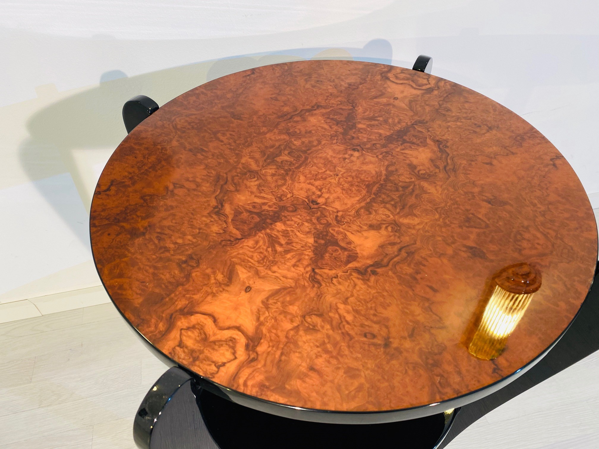 Side Table Coffe Burl Wood