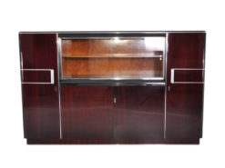 1930 Vitrine Cabinet Wall Cabinet made of Palisander