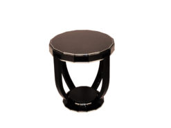 Art Deco Design Side Table with Sixteen Corners, Luxury Side Tables, Design furniture, art deco furniture, interior design sourcing, high gloss furniture
