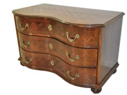 Neo Baroque Commode with Brass Handles 1970s, Baroque Style Furniture, Rebuild, curved drawers, luxury furniture, interior design