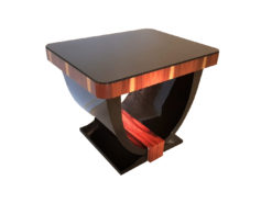 Art Deco Style Side Table Gondola, Side Tables, Luxury Furniture, Art Deco style furniture, living room tables, small tables, coffee table, high gloss