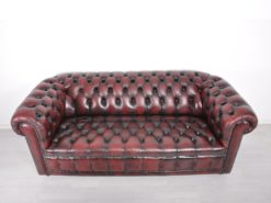 2-Seater And 3-Seater Upholstered Chesterfield Sofas