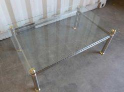 Art Deco Glas Coffee Table