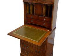 Antique Victorian Yew Wood Bureau