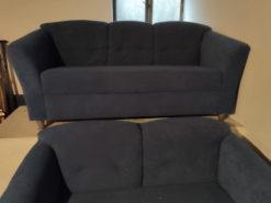 Blue Sofa Suite 2-Seater, 3-Seater