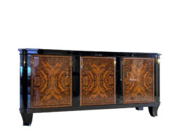 French Art Deco Sideboard Walnut Wood 1930s, Art Deco Furniture, Luxury Furniture, Interior Design, Walnut Veneer, French Antique Sideboard