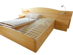 Double Bed With Nightstands