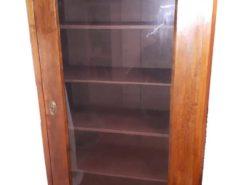 Wood Cabinet with glass door