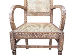 Chair with Bone Inlay