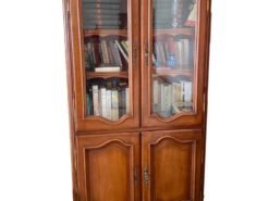 Antique Book Cabinet, Cherry Tree Wood